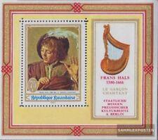 Rwanda Blok 19A (compleet.Kwestie.) postfris MNH 1969 musical Motieven aan Schil