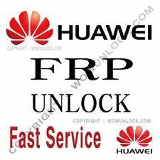 HUAWEI FRP UNLOCK KEY CODE BY IMEI GOOGLE ACCOUNT REMOVE - Worldwide Service