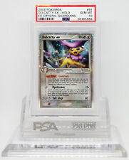 Pokemon EX CRYSTAL GUARDIANS DELCATTY EX 91/100 PSA 10 GEM MINT Card #28385889