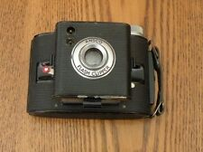 Ansco flash clipper used camera with original leather case
