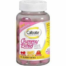 Caltrate Calcium & Vitamin D3 Gummy Bites Dietary Supplement