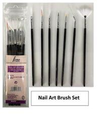 14 NAIL BAR DETAILING BRUSHES Professional UV Gel Painting Drawing Design Art UK