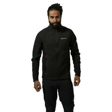 Montane Mens Neutron Jacket Top - Black Sports Outdoors Full Zip Warm Breathable