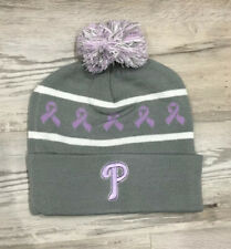 Philadelphia PHILLIES Breast Cancer Awareness 2019 KNIT HAT SGA NEW + Bonus Gift