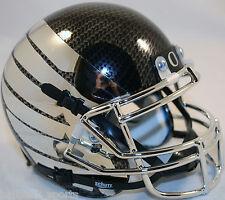 OREGON DUCKS (CARBON FIBER/CHROME WING) Schutt XP Mini Helmet
