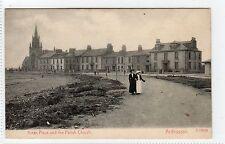 ARRAN PLACE AND PARISH CHURCH, ARDROSSAN: Ayrshire postcard (C3050).