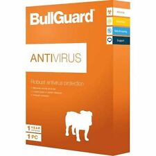 BullGuard Antivirus Protection - 2017 - 12 Month- 3 Devices - For all Windows PC