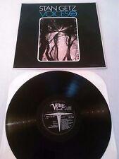 STAN GETZ - VOICES LP / UK 1ST PRESS VERVE SVLP 9186 HERBIE HANCOCK RON CARTER