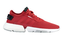 adidas Pod-S3.1 Mens UK 9 EU 43 1/3 Tactile Red & White Trainers Sneakers Shoes