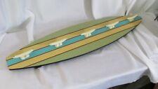 Large SURFBOARD WALL ART Coat/Hat Rack surf beach Home decor