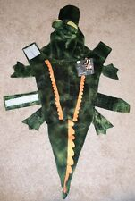"""NEW Petco Bootique Dog or Cat Costume Alligator Size Small 13-15"""" Halloween"""
