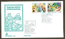 Vatican City Sc# 1320-1, Europa 2006: Integration, First Day Cover