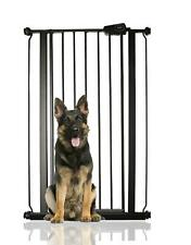 More details for bettacare child and pet gate extra tall puppy gate matt black 68.5-75cm