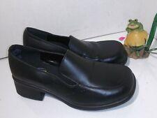 Women's Envy Shoes for Crews Black Leather Upper Model 3600 Size 6.5