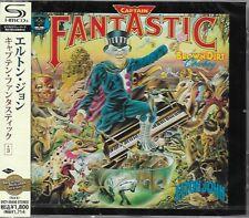 ELTON JOHN CAPTAIN FANTASTIC & THE BROWN DIRT COWBOY JAPAN 2013 RMST SHM CD+3