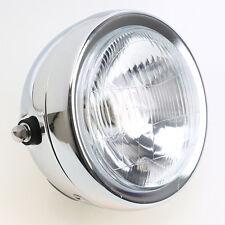 6.5 INCH Motorcycle Headlight Halogen H4 Bulb Head Lamp For HARLEY BOBBER
