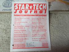 1996 JULY safe cracker sticky flipper links  PINBALL STAR TECH JOURNAL  manual
