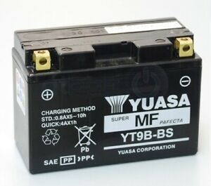 Yuasa YT9B-BS Batterie de Moto