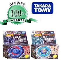 Beyblade Takara Galaxy Pegasus Vs. Ray Unicorno Aka Striker 2 Pack USA Hasbro