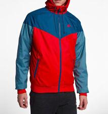 Nike Men's Sportswear Univ Red/Blue/Aqua Windrunner Jacket (727324-658) L/XL/XXL