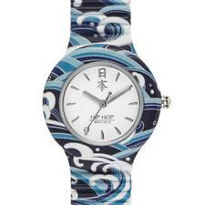 Orologio HIP HOP I LOVE JAPAN HWU0862 32mm Silicone Blu Bianco Uomo Donna