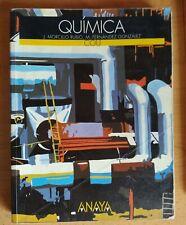 Libro de texto Química. COU. Anaya. J. Morcillo Rubio,M. Fernández González.1995