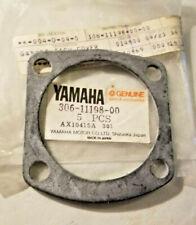 YAMAHA XS1 XS2 TX650 XS650 DECOMPRESSION VALVE GASKET OEM NOS 306-11198-00