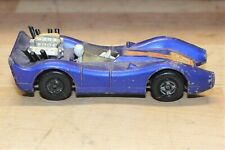 Vintage 1971 Matchbox Superfast #61 Blue Shark In Dark Blue Lesney