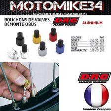 x2 Bouchons de valve BLEU DRC demonte obus integré MOTO / CROSS / ENDURO / QUAD