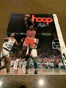 '93 Chicago Bulls Sacramento Kings program w/ Stat Sheet Michael Jordan Vintage