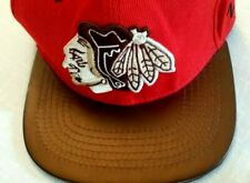 Chicago Blackhawks NHL Authentic Snapback Red Hat Zephyr Wool Acrylic Vintage