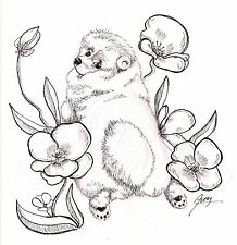 Professional Custom Pet/Animal Portraits in Pen and Ink