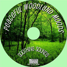 Relax with Natural Sounds of  a Peaceful woodland CD -  NO MUSIC, JUST NATURE