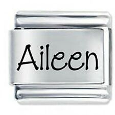 AILEEN Name  - Daisy Charms by JSC Fits Classic Size Italian Charm Bracelet