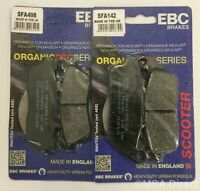 EBC FRONT and REAR Disc Brake Pads for KAWASAKI J125 / J300 (2014 to 2018)