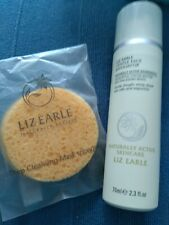 Liz Earle Gentle Face Exfoliator 70ml pump & 2 Cleansing Sponges - NEW sealed.