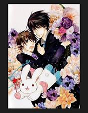 Sekai Ichi Hatsukoi Yaoi Anime Junjou Romantica Fabric Scroll.Poster *RARE*
