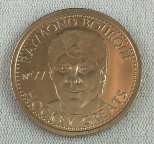 NHL 1996-97 Hockey Greats Coin #77-Raymond Bourque-Boston Bruins