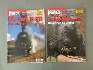 EISENBAHN JOURNAL Sonder-Ausgabe 2/2002 , 4/2002 ,   2 Hefte