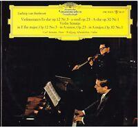 Beethoven: Sonatas Para Violín N.1 ,3 ,4 / Schneiderhan,Seemann - LP DGG Tulip