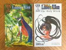 Record of Lodoss War Chronicles of the Heroic Knight 10 11 13 14 16 + Grey Witch