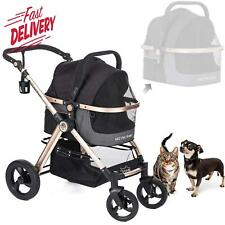 Hpz Pet Rover 3-In-1 Luxury Dog/Cat/Pet Stroller (Travel Carrier +Car Seat +Str