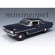 HIGHWAY 61 50147 1963 63 PONTIAC LEMANS COUPE 1/18 DIECAST MODEL CAR BLUE