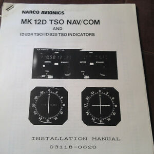 Narco Mk 12D & 12D+ with ID-824 & ID-825 Install manual