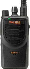 Motorola BPR40 MAG ONE VHF 150-174MHz 16 CHANNEL 5 WATT Two Way Radio LI-ION