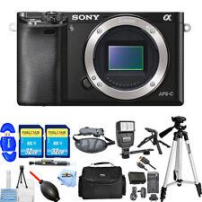 Sony Alpha a6000 Mirrorless Digital Camera Body (Black)! MEGA BUNDLE BRAND NEW!!