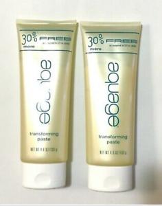 Aquage Transforming Paste 30% Bonus Size 4.6 oz Pack Of 2