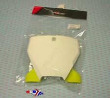 New Front Number Board Plate TC 125 FC 250 350 450 19 2019 White Yellow MX
