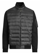 Polo Ralph Lauren Puffer Quilted Down Jacket Black Mens Sz XL