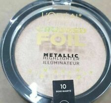 L'Oreal Paris Highlighter Bronzer Crushed Foil Metallic 10 Rose Quartz